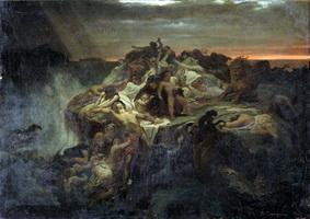 Всемирный потоп (В.П. Верещагин, 1869 г.)