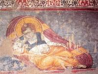 Христос Анапесон (М. Панселин, собор Протата)