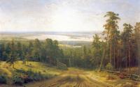 Кама близ Елабуги. 1895.