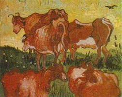 Коровы (В. ван Гог)