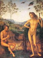 Аполлон и Марсий (Перуджино)