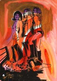 Три девушки (Зигмар Польке)