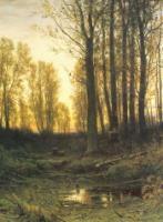 Сумерки.Заход солнца.1874