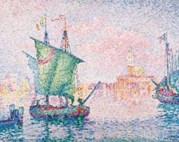 Розовое облако (П.Синьяк, галерея Альбертина)