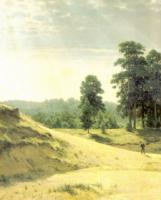 Пески. Левый фрагмент. 1887