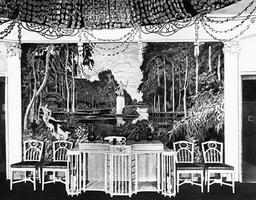 Столовая на выставке Современное искусство (1903 г.)