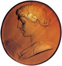 Аполлон Кифаред (Инталия из сердолика)