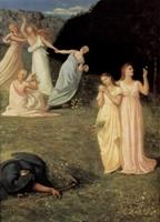 Галерея Сюзанна Валадон. Пюви де Шаванн. Девушки и смерть