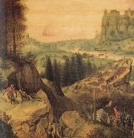 Самоубийство Саула.Фрагмент-левая часть
