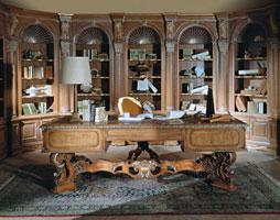 Интерьер кабинета в стиле барокко