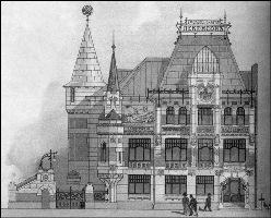 Архитектор - Ф. О. Шехтель. 1900 год