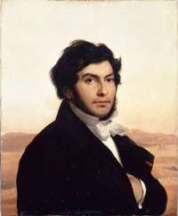 Жан-Франсуа Шампольон (1790-1832). Портрет работы Леона Конье