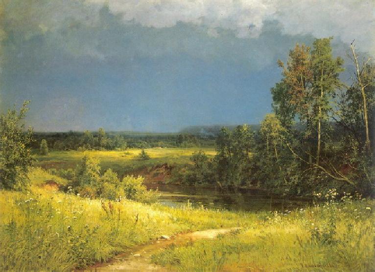 Перед грозой.1884