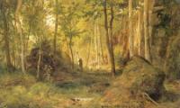 Пейзаж с охотником.Остров Валаам.181867