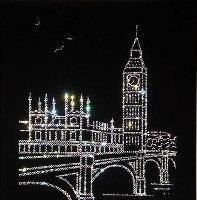 Картина Сваровски Лондон
