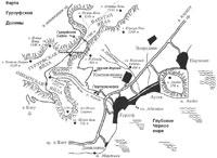 Карта Гурзуфской долины