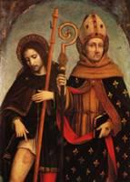 Боргоньоне А. - Святой Рох и святой Людовик Тулузский