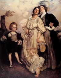 Групповой портрет (Дж. Ламберт)