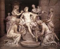 Апполон и нимфы (Ф. Жирардон)