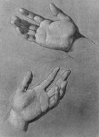 Зарисовка рук (И. Кудрявцев)