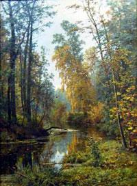 Осень (И.И. Шишкин, 1889 г.)