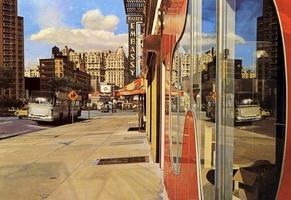 Отражение автобуса (Р. Эстес, 1971 г.)