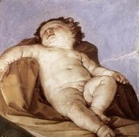 Спящий Путто (Г. Рени, 1627 г.)