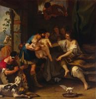 Риччи, Себастьяно - Детство Ромула и Рема