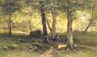 В роще. 1865