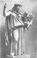 Статуя Кефисодота Эйрена с Плутосом