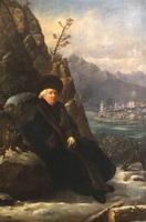 Портрет поэта Г.Р. Державина (С. Тончи)