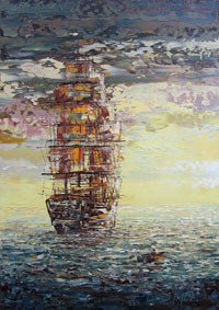Корабль (неизвестный художник)