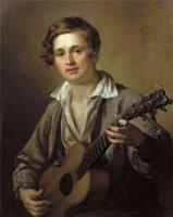 Гитарист Василия Андреевича Тропинина