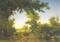 Вид в окрестностях Петербурга. 1856