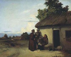 Малороссийский шинок (В.И. Штернберг, 1837 г.)