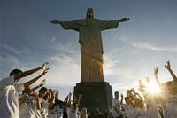 Статуя Христа-Спасителя в Рио-де-Жанейро