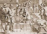 Одиссей в состязании лучников